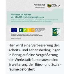 Vorhaben im Rahmen der LEADER-Entwicklungsstrategie